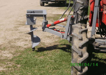 Vine Replacement Auger | Green Hoe LLC