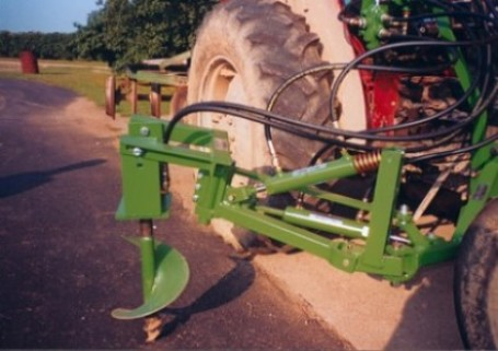 The Hydraulic Vine Auger